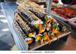 cuisine sale food sale busan kimbap ภาพสต อก 481674877