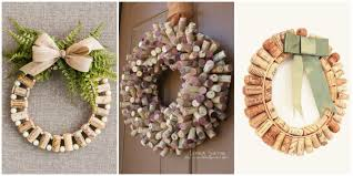 how to make wine cork wreaths wine cork wreaths crafts and diys