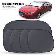 protection si e arri e voiture portable 5 pcs auto voiture pare soleil fenêtre pare soleil écran