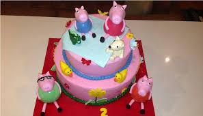 peppa pig cake u2014 c bertha fashion peppa pig cake topper ideas