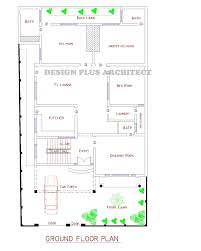 Modern Architecture Floor Plans Modern Architecture House Plan Corner Plot Design In Lahore Pakistan