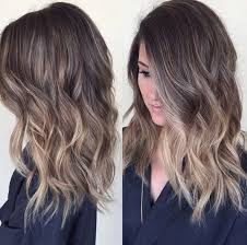 medium length hair with ombre highlights 10 easy everyday hairstyle for shoulder length hair 2018