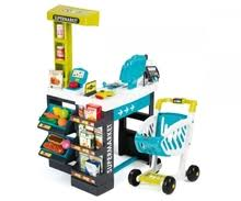 cuisine smoby loft smoby childrens supermarket shopping centre with trolley