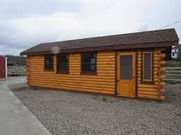 trophy amish cabins llc 10 x 20 bunkhouse cabinshown in the trophy amish cabins llc 10 x 26 cottage deluxe