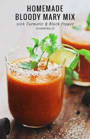 organic bloody mix bloody mix with turmeric and black pepper hello glow