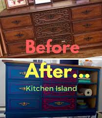 Repurposed Dresser Kitchen Island - 35 best diy images on pinterest diy furniture makeover and wood