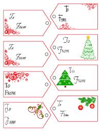 Printable Christmas Tag Templates U2013 Happy Holidays