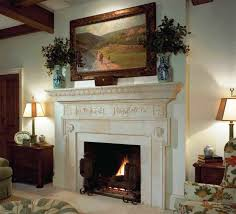 decorate fireplace with candles decor crave