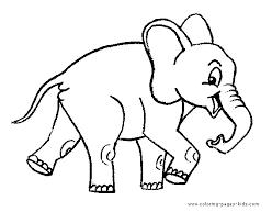 happy walking elephant color