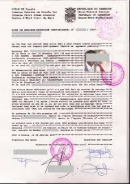 documents mariage eregulations yaoundé