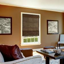 Wooden Furniture For Living Room Designs Decorating Natural Matchstick Blinds For Exciting Windows