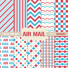 digital paper pack air mail