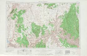 Topographic Map United States by Grand Canyon Topographic Map Sheet United States 1953 Full Size