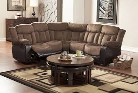 Leather Recliner Sectional Sofa Sofa Impressive Small Sectional Sofa With Recliner Appealing