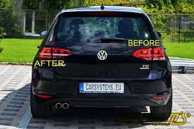 golf 7 led taillights gti look