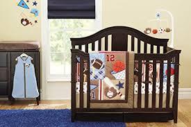 Sport Crib Bedding New 8 Pieces Baby Boy Sport Crib Bedding Set 703681366365 Ebay