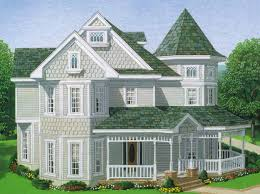 Traditional 2 Story Country House Plans Full Hdfloor Aflfpw