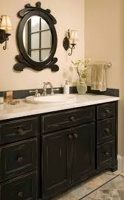 Black Painted Bathroom Cabinets Best 25 Black Bathroom Vanities Ideas On Pinterest Black
