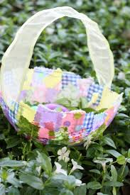 fabric collage easter baskets easter baskets easter and collage