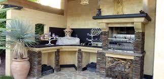 cuisine d ext駻ieur cuisine d été et barbecue pour votre aménagement extérieur barascud