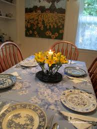 french country restaging a dining room