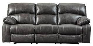 Power Reclining Sofa Dunwell Steel Power Reclining Sofa The Furniture Mart