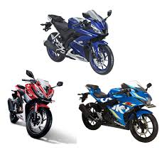honda cbr150r perbandingan all new yamaha r15 all new honda cbr150r dan suzuki