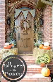30 stylishly spooky halloween decorations fall fall front