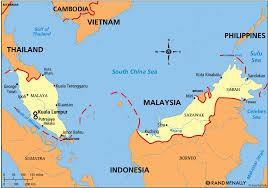 Map Of Malaysia Map Political Malaysia
