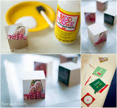 a tree full of memories adorable diy photo ornaments