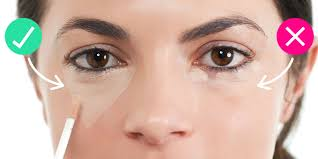 How To Shape Eyebrows With Concealer Triangle Concealer Trick Concealer Trick That Brightens Your Face