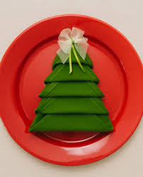 tip of the day tree napkin fold the nibble