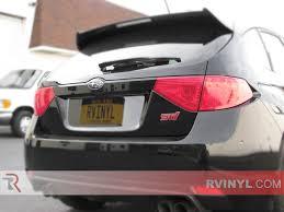 subaru wagon 2014 rtint subaru wrx wagon 2008 2014 tail light tint film