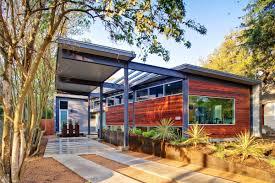 stylishly simple modern one story house design modern one story