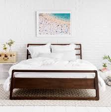 Santiago Bed Frame Awesome Best 25 Wood Bed Frame Ideas On Pinterest Brown