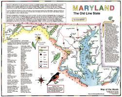 Map Of Baltimore Md Studying With Your State Map Maps For The Classroom