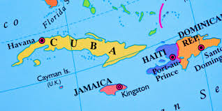 Cuban Map 2015 The Year Of Change For Cuba And Haiti Huffpost