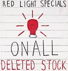 light specials on all deleted stock by robinson on artnet