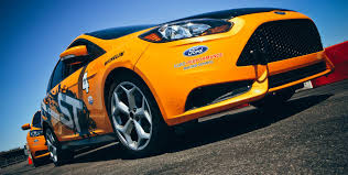 bright orange cars 2017 ford focus st unstoppable performance ford com
