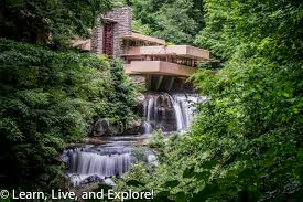 Falling Water House by Frank Lloyd Wright U0027s Fallingwater Learn Live And Explore