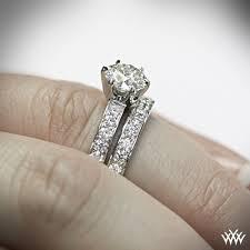 wedding set rings style bead set diamond wedding set 1468