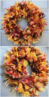fall ribbon 60 fabulous fall diy projects to decorate and beautify your home