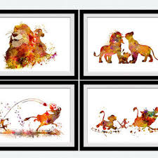 lion king throw pillow cover forget lessssismoreee