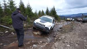 jeep canada 2014 jeep cherokee trailhawk off road in tremblant at the jamboree
