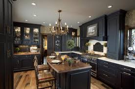 Dark And Light Kitchen Cabinets Uncategories Dark Kitchen Cabinets With Light Floors Modern