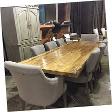 custom wood dining tables romantic live edge furniture horizon home huge warehouse natural