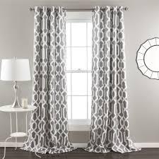 Lush Decor Edward Moroccan Pattern Blackout Curtain Panel Pair 84