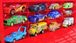 disney pixar cars 3 big mack truck carry case with lightning