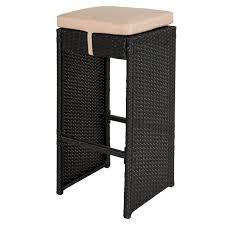 100 2 pcs rattan bar stool set of 2 bentwood bar stools pu
