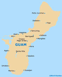 guam on map map of guam antonio b won pat airport gum orientation and maps